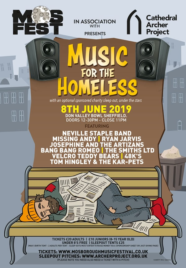 Music for the Homeless, Sheffield